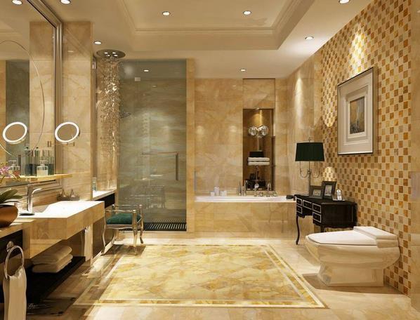 85平米 住宅马可 波罗地板瓷砖装修效果图 齐装