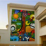 幼儿园彩色时尚装饰