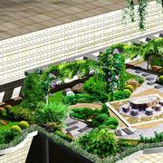 露台绿化装饰展示