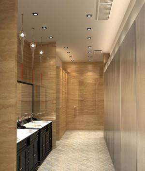 洗手间走廊干净装饰
