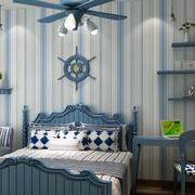 三室两厅卧室地中海装饰