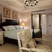 现代美式卧室榻榻米