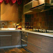 东南亚风情的厨房