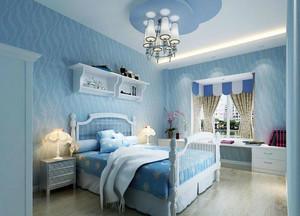 地中海蓝色卧室