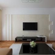 白色客厅硅藻泥背景