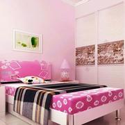 粉色可爱儿童房