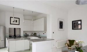 北欧白色小厨房
