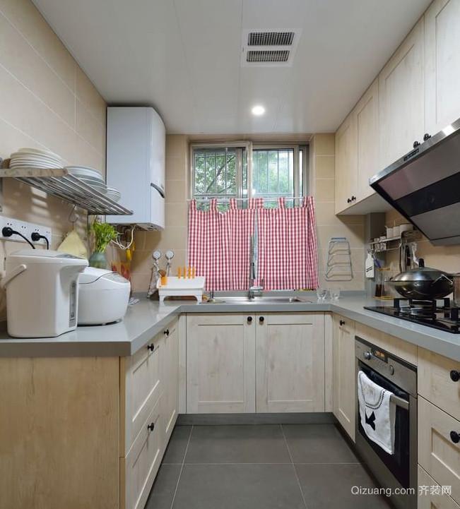 春风和煦的日式风格厨房设计装修效果图大全