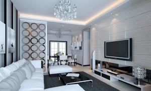 摩登时尚的客厅
