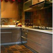 厨房地板瓷砖展示