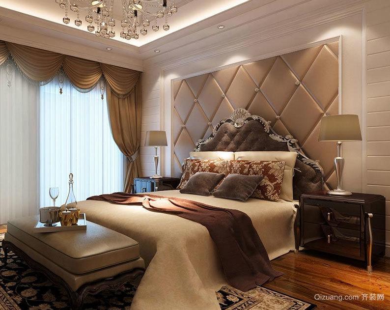 2015大户型温馨舒适的宜家卧室吊顶装修效果图