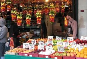 小型便民精品水果店装修效果图