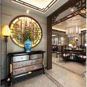中式古典鞋柜装饰