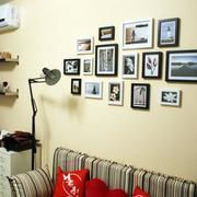 现代化的小户型照片墙