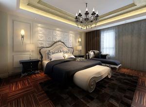 小复式楼欧式奢华小卧室装修效果图