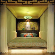 古典优雅的榻榻米卧室