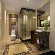卫生间地板瓷砖贴图