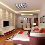 温馨宜家的客厅