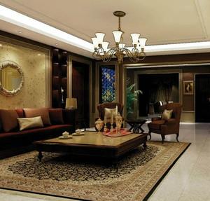 中式家装客厅欣赏