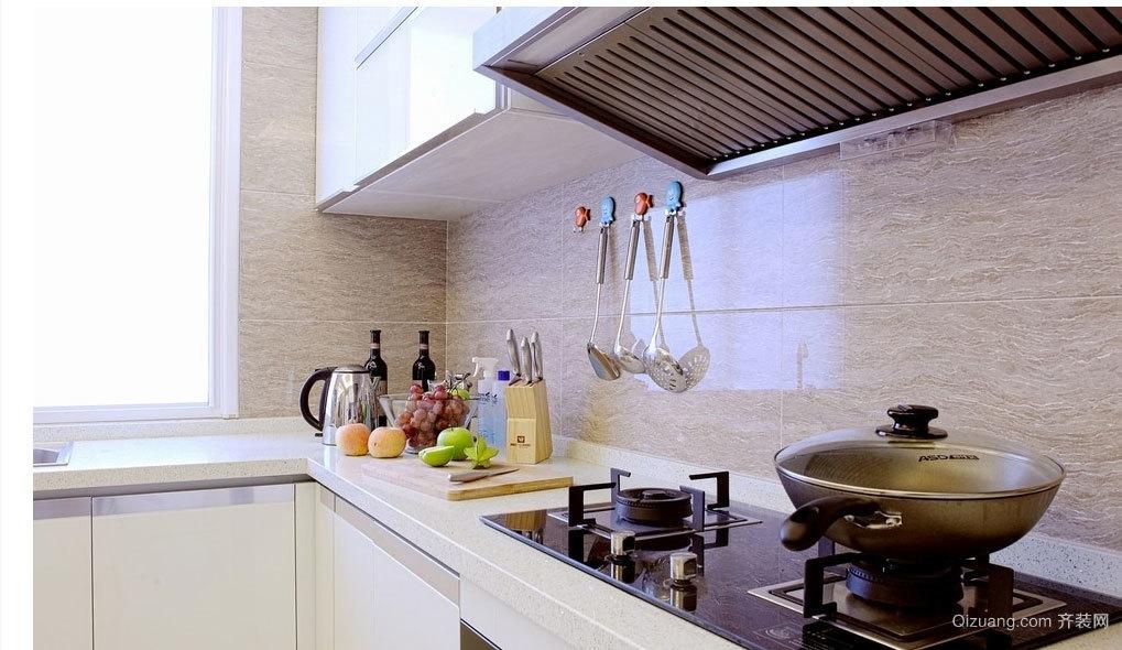 韩式时尚厨房装修效果图