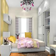 卧室黄色背景墙