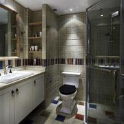 卫生间瓷砖地板欣赏