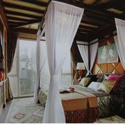 木屋卧室榻榻米图片