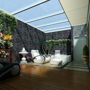 休闲享受生活的阳光房