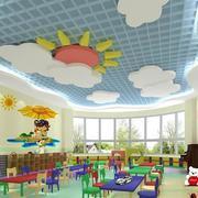 幼儿园气派天空吊顶
