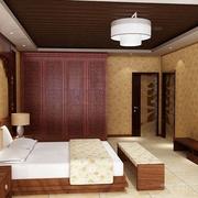 素雅新中式卧室