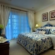 清新简约的卧室