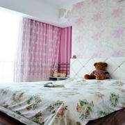 清新简约卧室