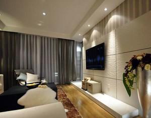白色客厅硅藻泥墙面