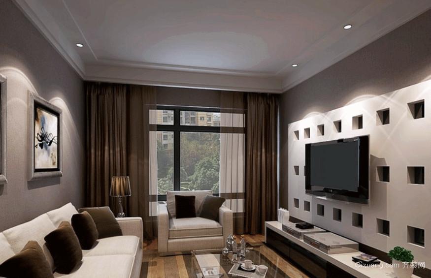 90平米现代简约风格交换空间客厅装修效果图