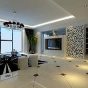 客厅简洁精致地板