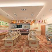 蛋糕店地板瓷砖设计