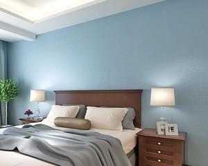2015三室两厅两卫地中海风格卧室壁纸装修效果图