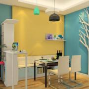 色彩亮丽餐厅装潢