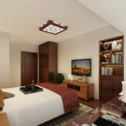 乡村气息的卧室
