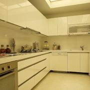 别墅现代厨房橱柜