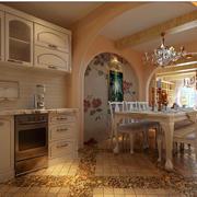 欧式风格的厨房