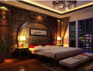 颜色温馨的卧室