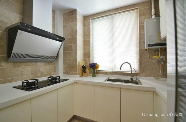 知性内敛的现代风格厨房设计装修效果图大全