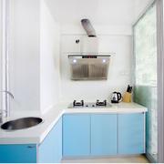 厨房蓝色橱柜