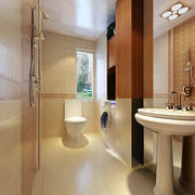 简洁干净的卫生间