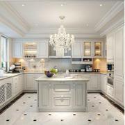 简欧式白色厨房