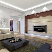 宜家舒适的公寓客厅