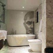别墅卫生间墙面装饰