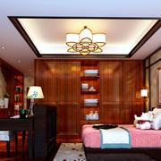 中式家装卧室展示