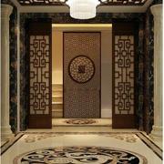 中式玄关装饰